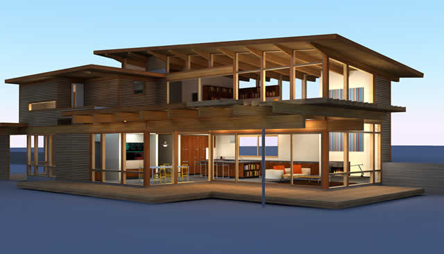 Turkel Design Linda L Cedar Homes For